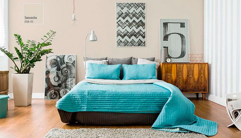 Dise a tu rec mara y crea un espacio acojedor comex for Gama de pinturas para interiores