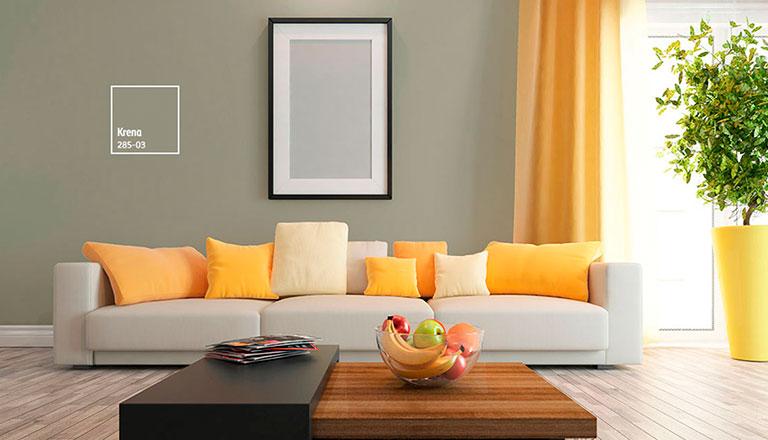Dale vida con color y armoniza tu sala comex for Colores para muros interiores