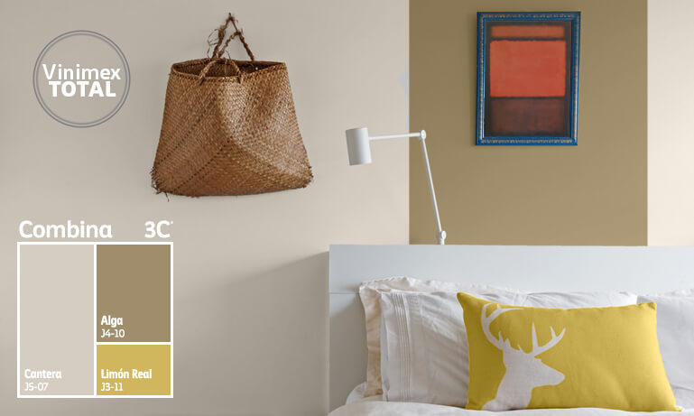 Conoce c mo combinar colores con combina 3c comex for Pintura beige claro