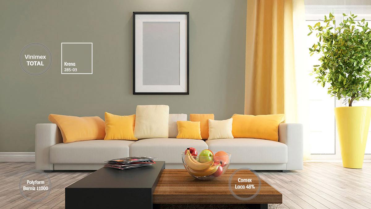 Decoraci n de espacios para salas comex - Catalogo decoracion interiores ...