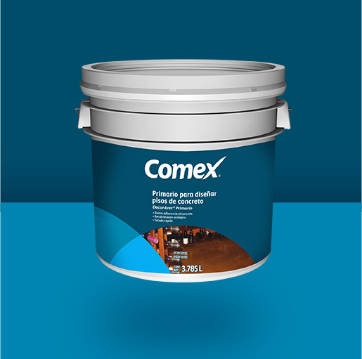Primario para pisos de concreto deconkret comex for Pigmento para cemento