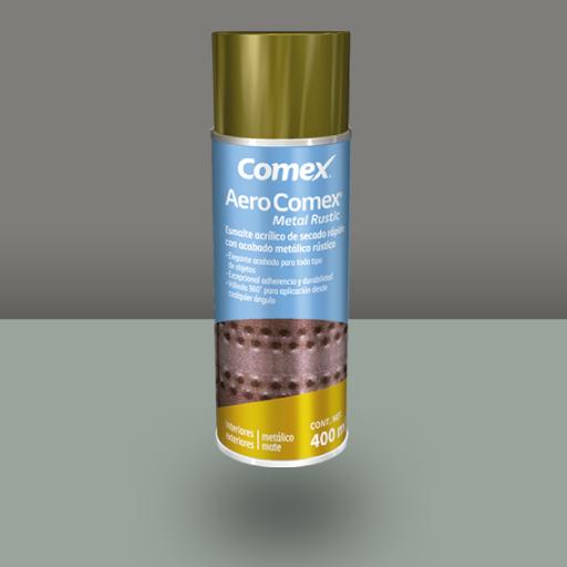 Aero comex metal rustic acabado r stico comex - Pintura color oro ...