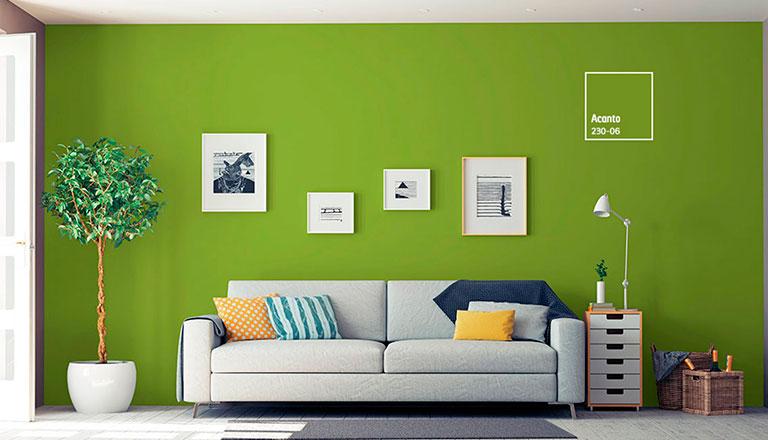 Dale vida con color y armoniza tu sala comex for Catalogo de pinturas para interiores