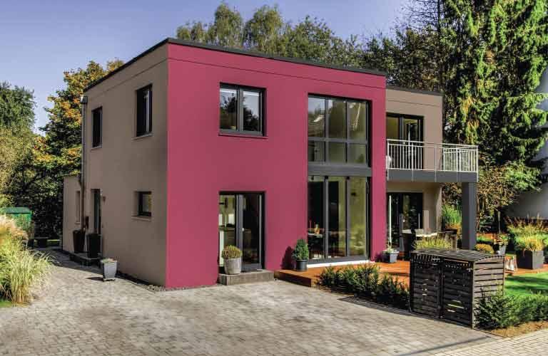 Decoraci n de espacios exteriores comex for Pintura para exteriores colores