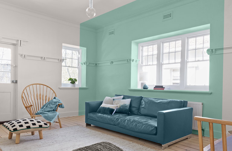 Pinturas para interior y exterior impermeabilizante y m s for Cocina pintura pato azul