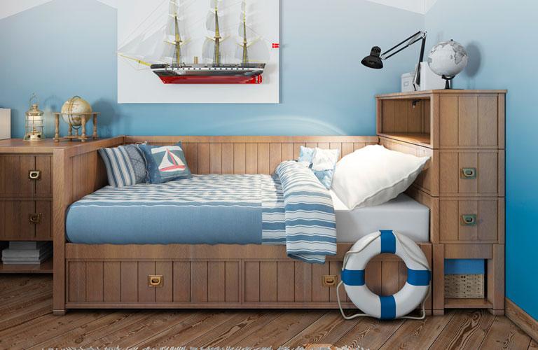 Crea y decora el espacio ideal para tus ni os comex for Recamaras para ninos espacios pequenos