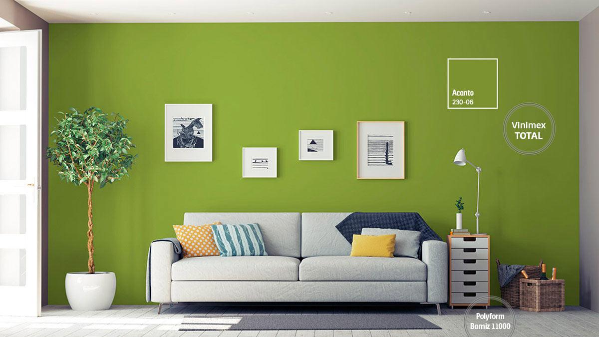 Gama de colores comex interiores for Ejemplo de color de pintura de cocina
