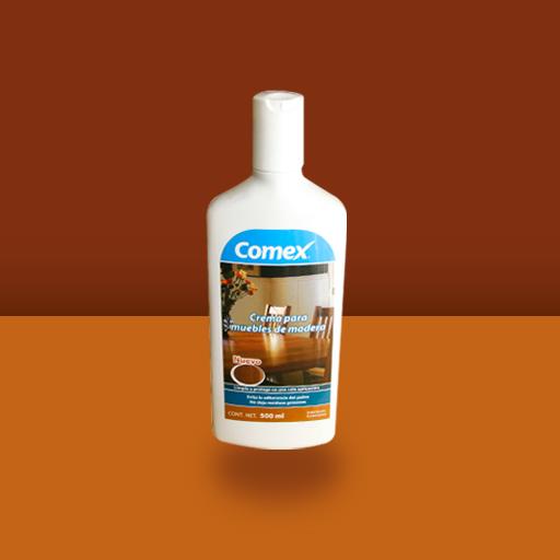 Crema para muebles para superficies de melamina comex - Productos para limpiar madera ...