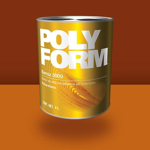 Polyform barniz 3000 protege muebles comex - Pintura base para madera ...